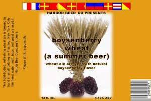 Boysenberry Wheat label draft