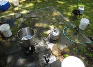 Brewday equipment