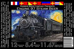 Engine 97 Steam Beer label