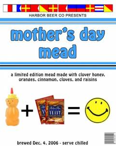 Mother\'s Day Mead label