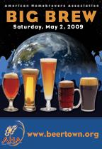 Big Brew 2009 poster