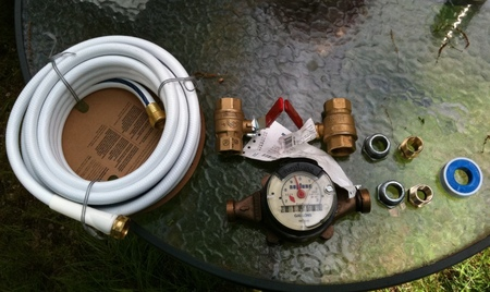 Fittings for the T-10 water meter