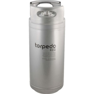 Five gallon Torpedo keg